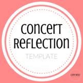 Concert Reflection