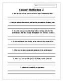 Concert Reflection Paper