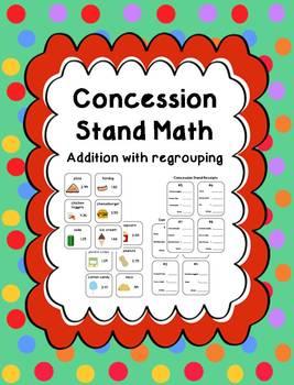 Concession Stand Math Center