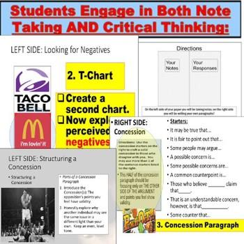 how to write a refutation paragraph