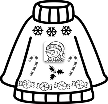 Concevoir un chandail d'hiver (Ugly Sweater French)