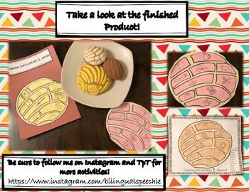 Concha Articulation Craftivity- English