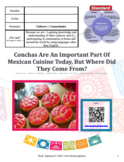 Conchas: An Important Part Of Mexican Cuisine Today, But W