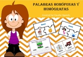 Palabras homófonas y homógrafas