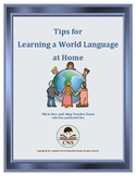 Tips for Learning a World Language at Home