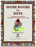 More Books for Boys