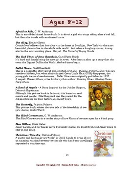 Concise Concepts for Reading: More Great Reading for Girls