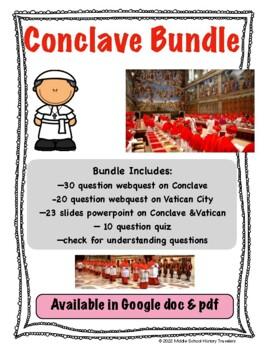 Papal Conclave Bundle (Conclave, Papal Election, Vatican)