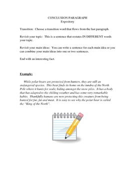 Conclusion Paragraph Design