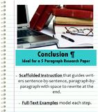 Conclusion Paragraph - Research Paper