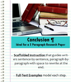 Conclusion Paragraph - Research Paper