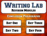 Conclusion Paragraphs - Writing Lab Revision Module