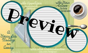 Writing a Conclusion-Placemats and Reference Sheets