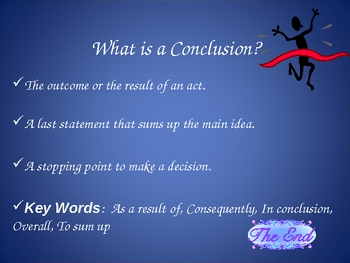 Conclusion Power Point