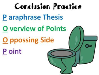 Conclusion Writing PPT