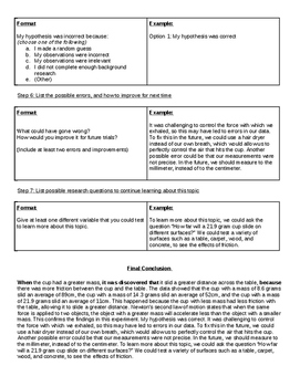 Conclusion Writing Template