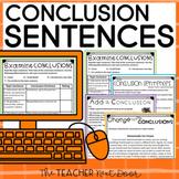 Conclusion Sentences for Paragraph Writing: Print & Digita