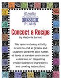 Concoct a Recipe