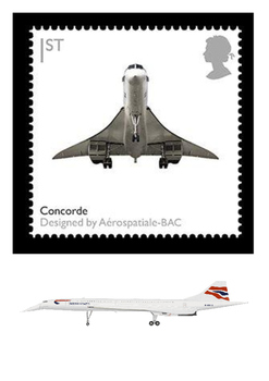 Concorde Jet Airliner Word Search