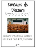Concours de Discours - French Speaking Challenge