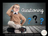 Concrete Comprehension: Questioning for Intermediate Learners