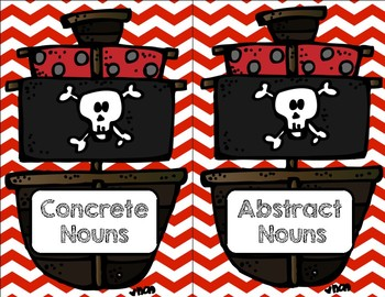 Concrete and Abstract Noun Sort