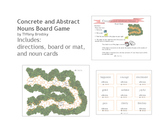 Concrete and Abstract Nouns Game Board, Great for Literacy Center or Small Group