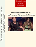 Conditional in Spanish Condicional Simple Spanish song-cancion