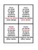 Condicional irregular (Spanish Verbs) Conditional Juego de Siete Familias