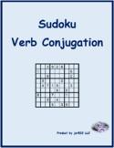 Condicional irregular Spanish Verbs Sudoku
