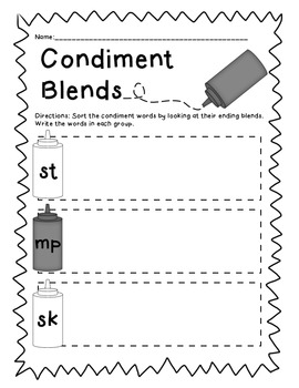 Condiment Blends