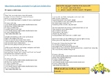 Conditional 2 - If I were a rich man (song) + speaking activity ESL