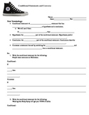 Conditional & Converse Notes and Mad Libs Activity