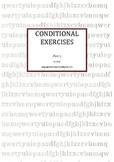 Conditional Exercises -Part 1-
