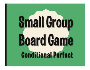 Spanish Conditional Perfect Board Game