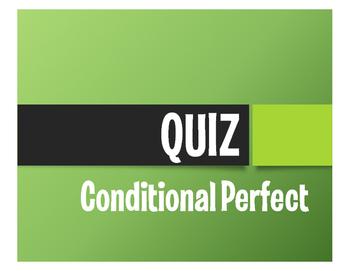 Spanish Conditional Perfect Quiz
