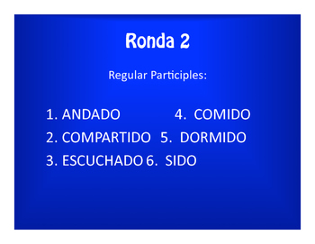 Spanish Conditional Perfect Olympics