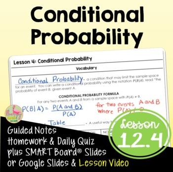 Algebra 2: Conditional Probability