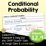 Conditional Probability (Algebra 2 - Unit 12)