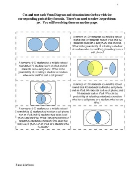 Conditional Probability Mix-n-Match Lesson