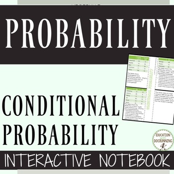 Conditional Probability Notes Color and black and white