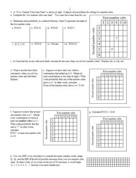 Conditional Probability Spring 2014 (Editable)