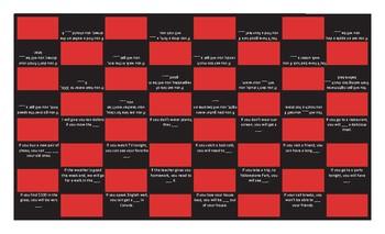 Conditional Sentences Type 0 & 1 Checker Board Game