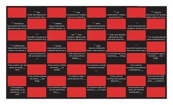 Conditional Sentences Type 2 Checker Board Game