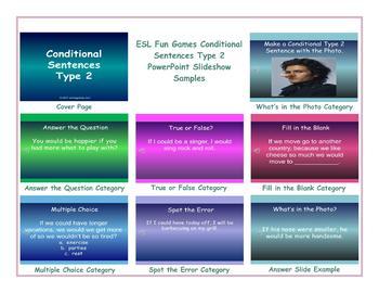Conditional Sentences Type 2 PowerPoint Slideshow