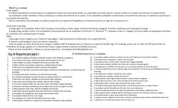 Conditional Sentences Type 2 Spanish Legal Size Photo Tic-Tac-Toe-Bingo Game