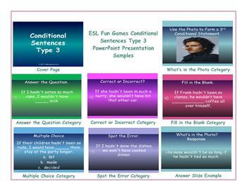 Conditional Sentences Type 3 PowerPoint Presentation