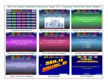 Conditional Sentences Types 0 & 1 PowerPoint Slideshow