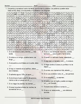 Conditional Sentences Types 0 and 1 Wacky Trails Spanish Worksheet