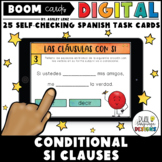 Conditional Si Clauses in Spanish | Digital Boom Cards for